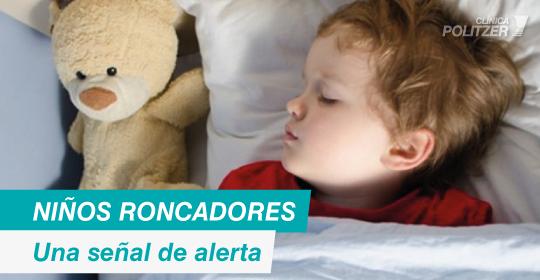 Niños roncadores: Una señal de alerta