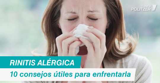 10 tips para vivir con rinitis alérgica