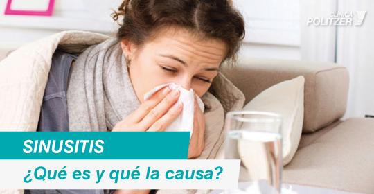 Sinusitis: ¿qué es y qué la causa?